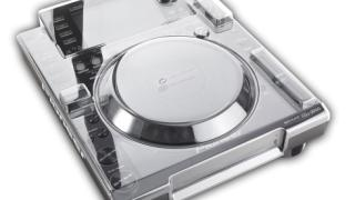 Decksaver Pioneer CDJ-2000 cover and faceplate